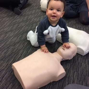 CPR is easy as childs play.